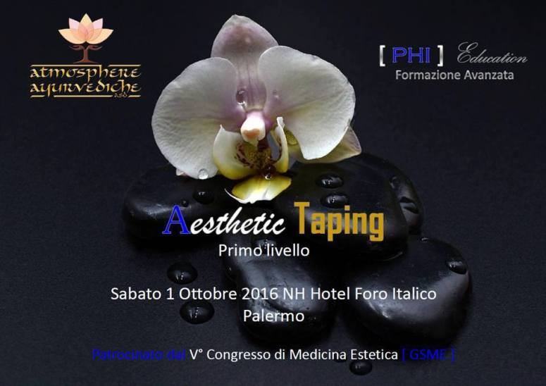 atmosphere ayurvediche ravenna - aesthetic taping primo livello - palermo ottobre 2016