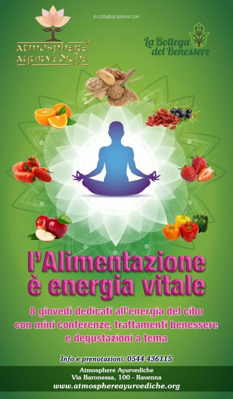 atmosphere ayurvediche ravenna - alimentazione energia vitale