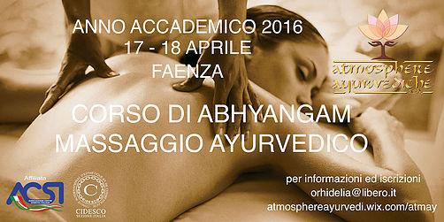 atmosphere ayurvediche ravenna-corso abhyangam massaggio ayurvedico-aprile 2016