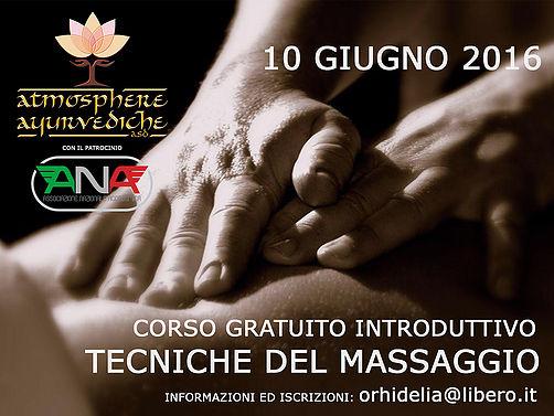 atmosphere ayurvediche ravenna-corso gratuito introduttivo tecniche massaggio-giugno 2016