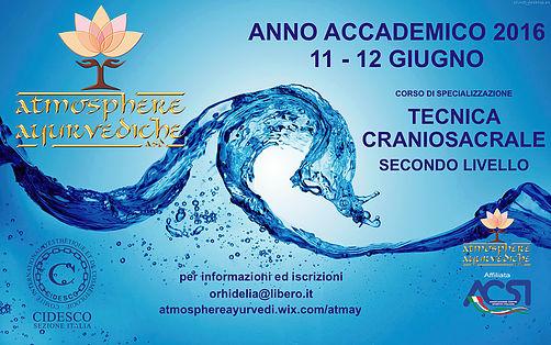 atmosphere ayurvediche ravenna-corso specializzazione tecnica craniosacrale-II livello-giugno 2016
